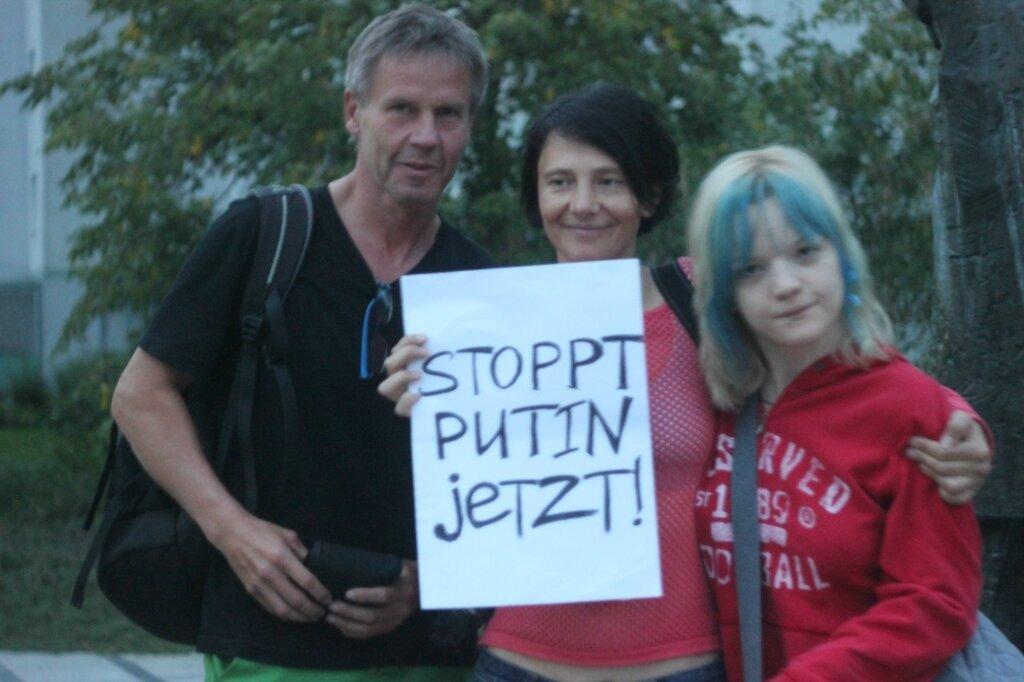 В Германии прошли пикеты «Остановите Путина сейчас!»