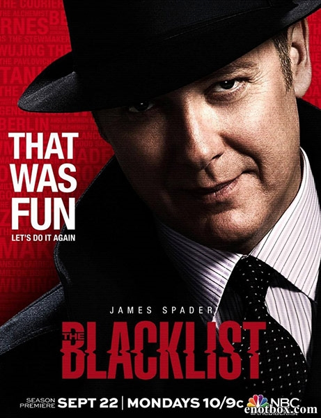 Черный список / The Blacklist - Полный 2 сезон [2013, WEB-DLRip | WEB-DL 1080p] (LostFilm | SET)