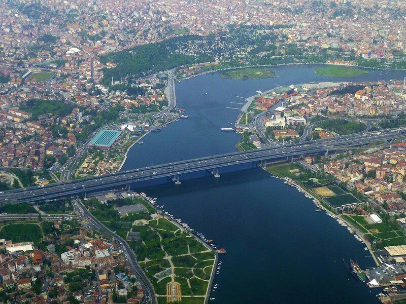 Стамбул, вид с самолета (Istanbul, view from the airplane)