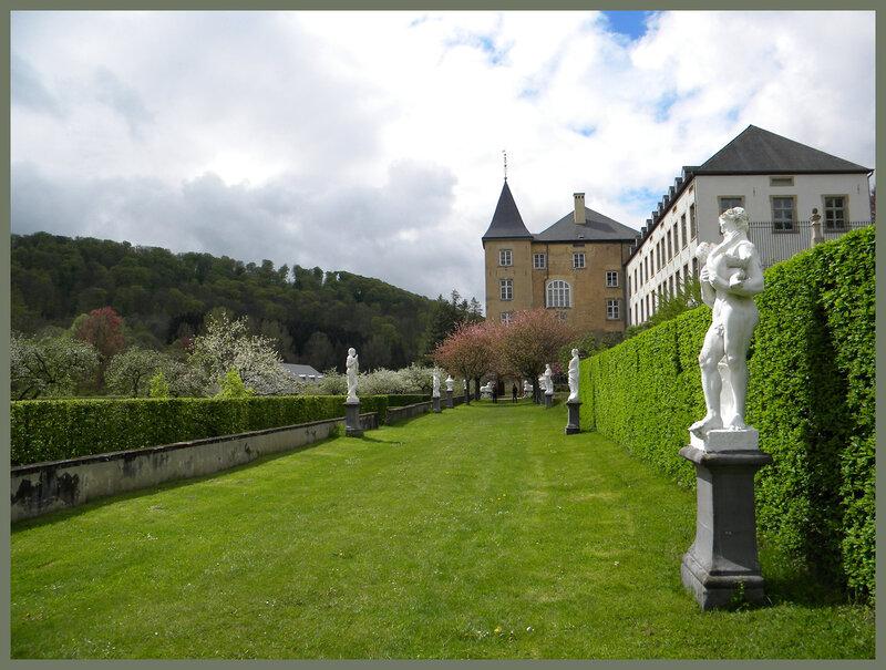 Замки Люксембурга путешествие в Ansembourg