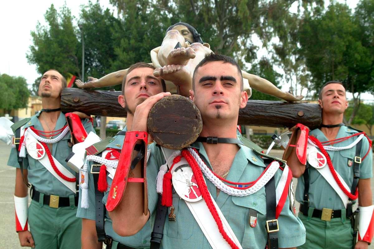 Про козла на веревочке и другие атрибуты Испанского легиона (40)