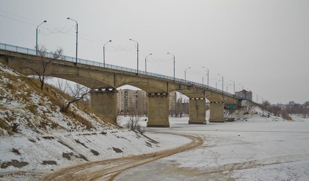 Камышин. Бородинский мост