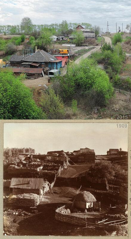 Деревня Токоревка.