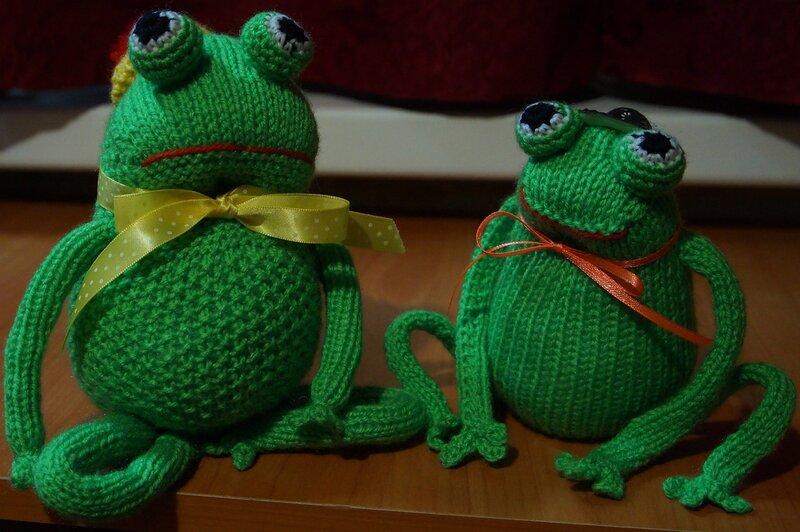 мягкие игрушки Лягушата