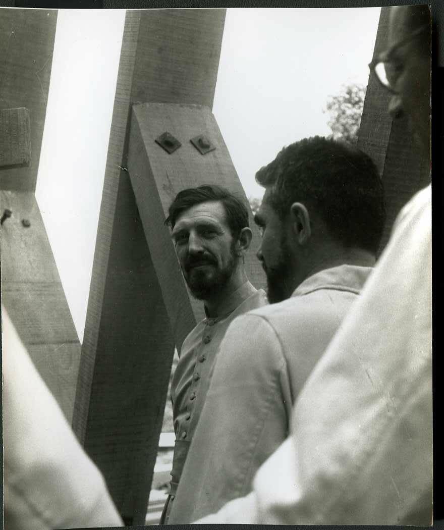1962. Чад. Форт Лами. Джамена,  Миссионер