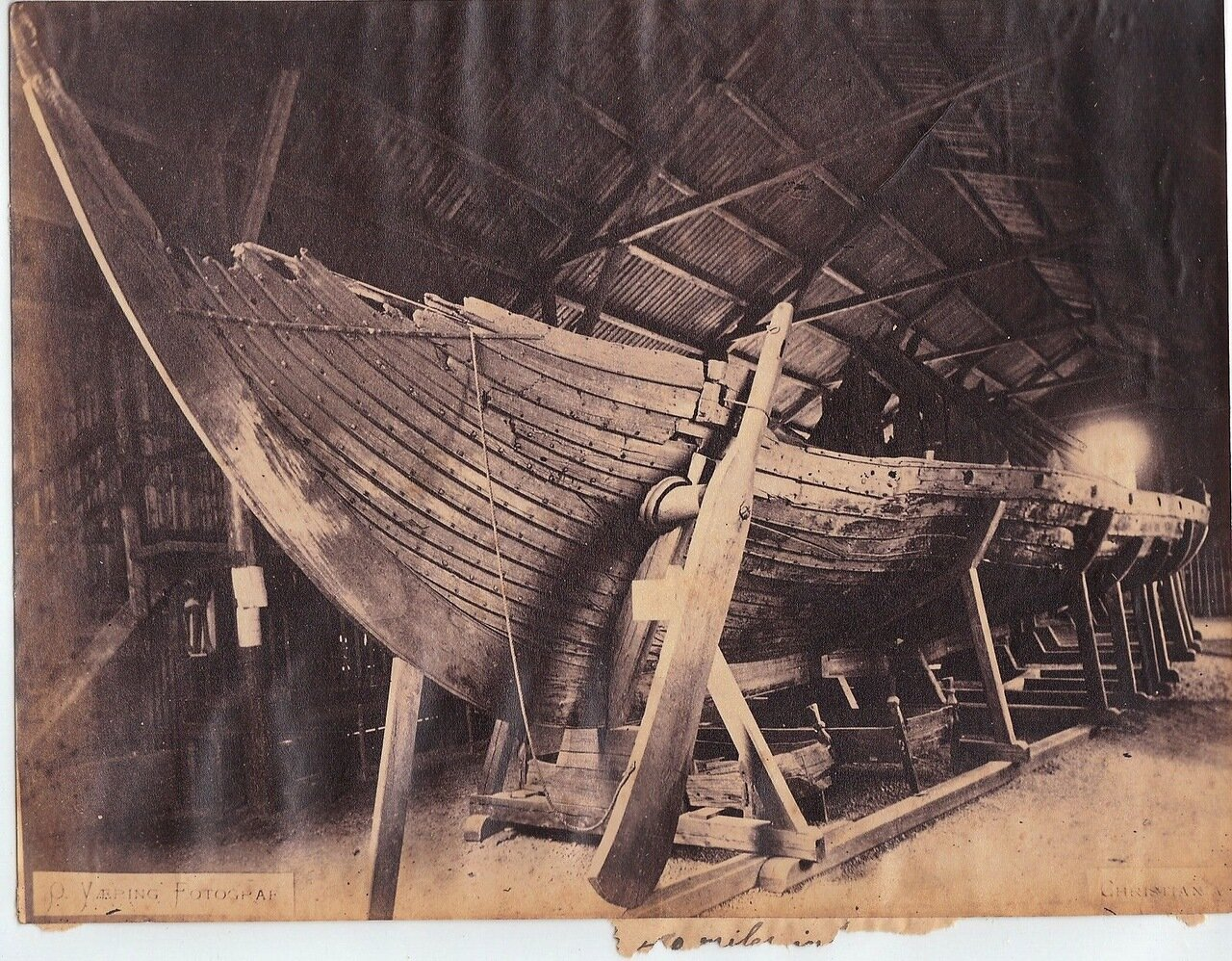 Лодка викингов