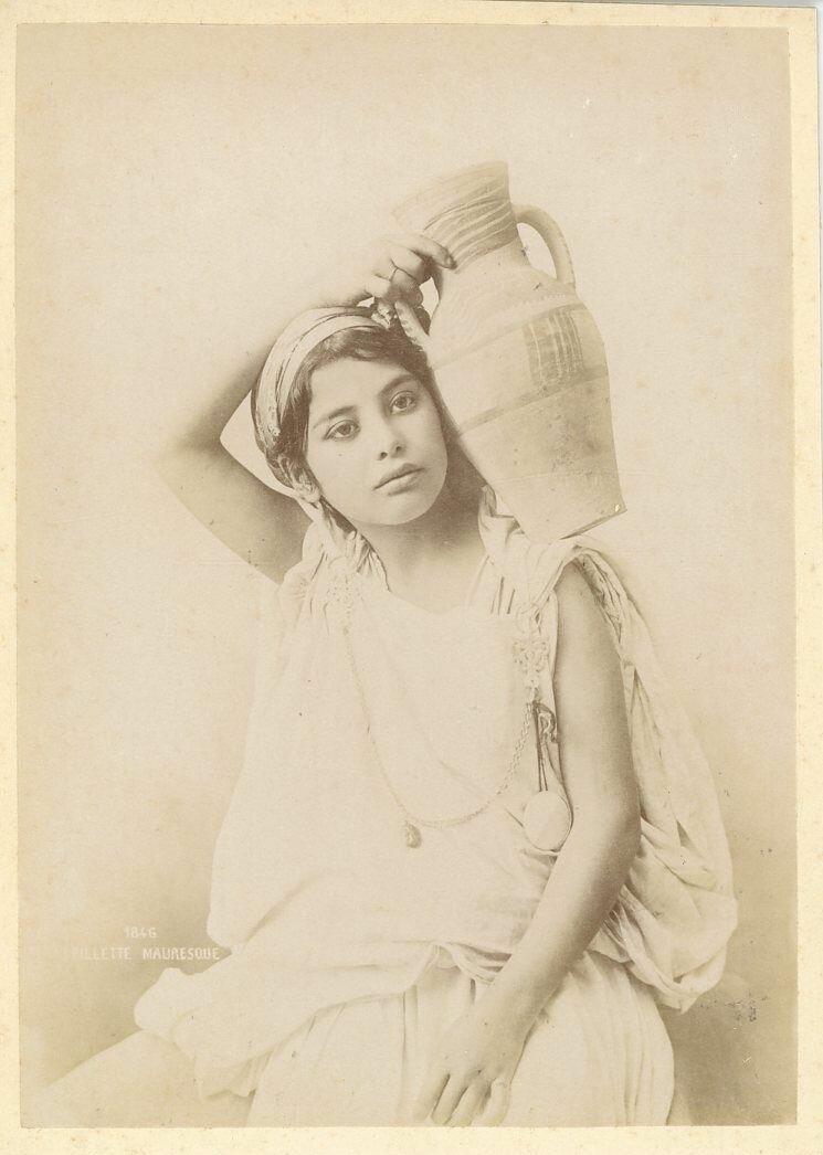 Мавританка.  1883.