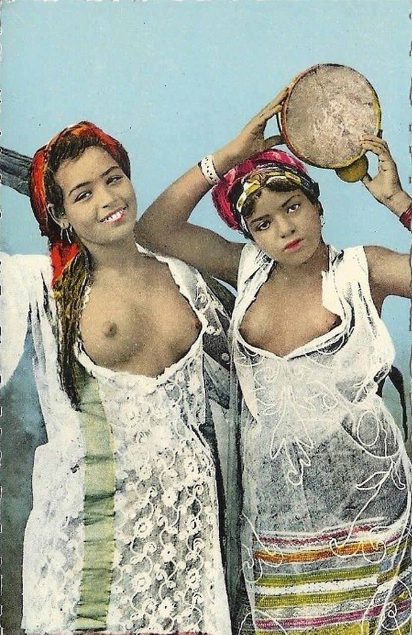 1920-е. Исполнительницы танцев живота