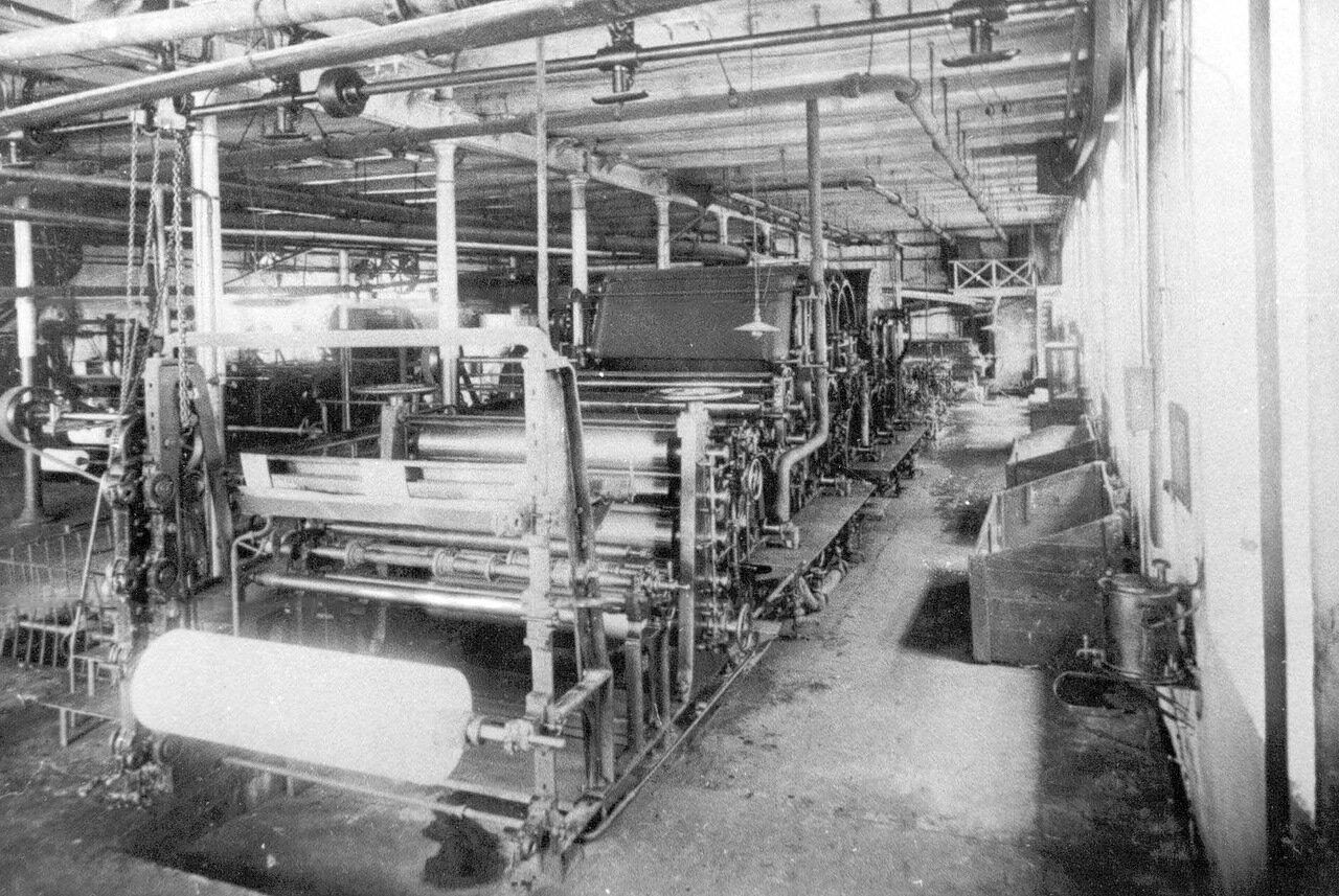 09. Бумагоделательная машина для писчих и почтовых бумаг
