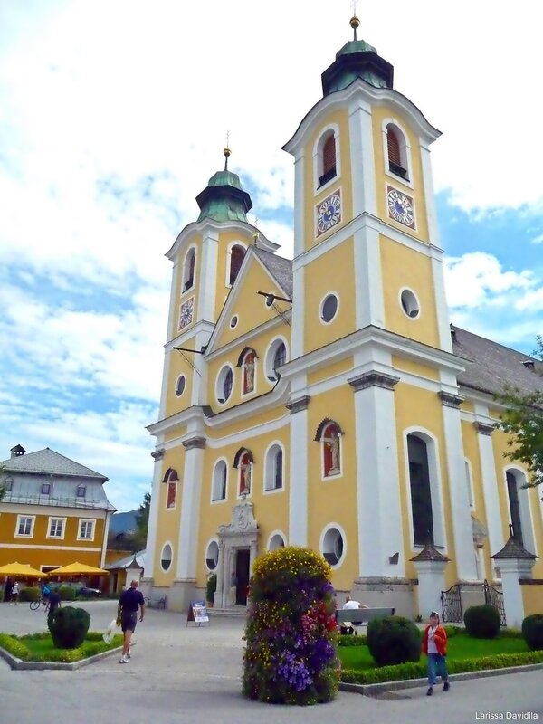 Барочная церковь (1723 -1732 гг.).