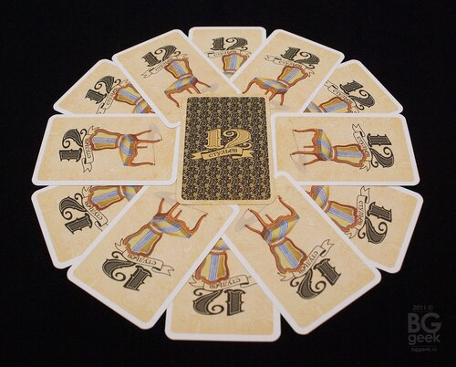 настольная игра 12 стульев