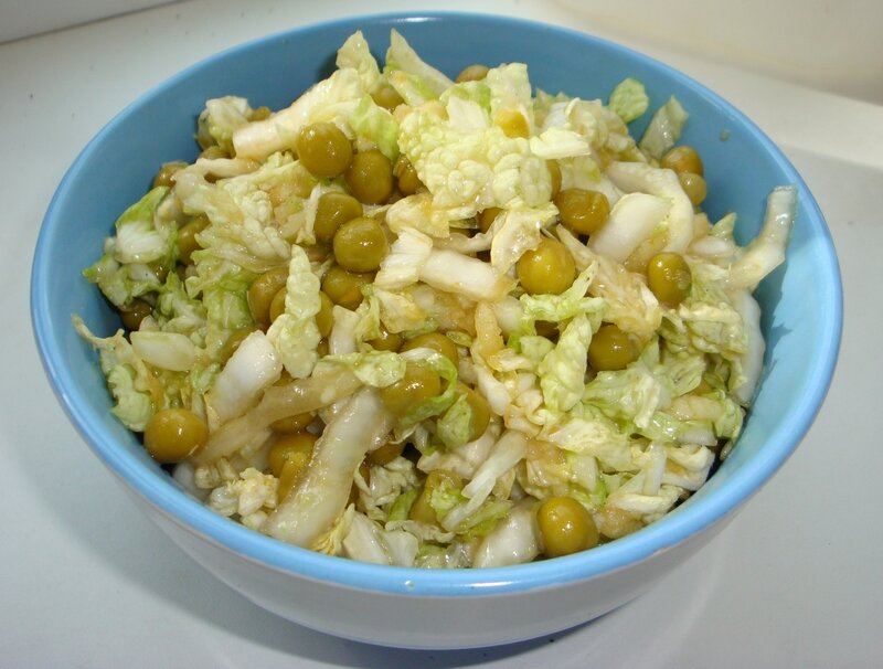 Еще один витаминный салат.