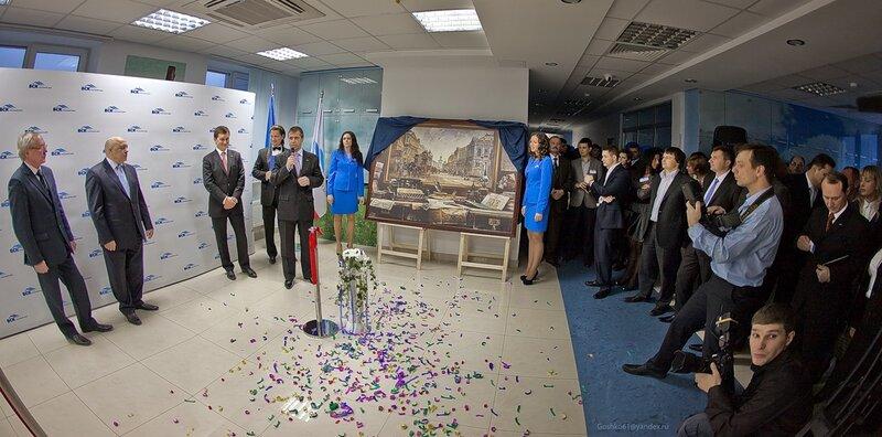 Вечером пятницы 25 февраля в поселке Заречье Одинцовского района (ул.Торговая, 5, стр.1, 50-ый км МКАД) был торжественно открыт новый 110-ый офис филиала ВСК