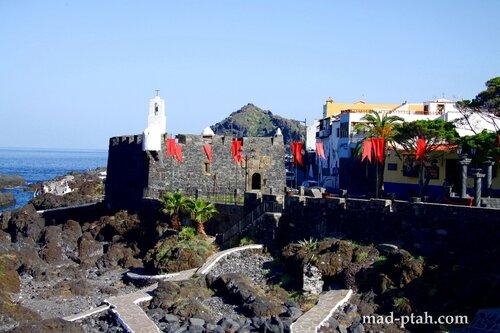 Тенерифе, Гарачико, крепость Сан-Мигель