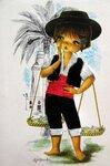 Винтажные открытки от Gallarda 45