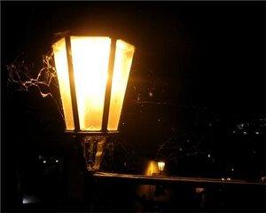 В Ливадии зажглись фонари