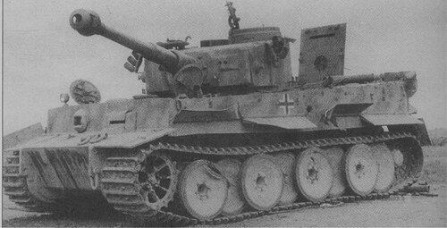 Немецкий тяжелый танк pz kpfw vi тигр с