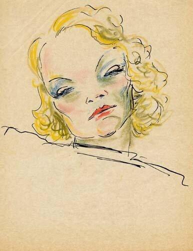 Marlene_Dietrich by dietrichDolbin
