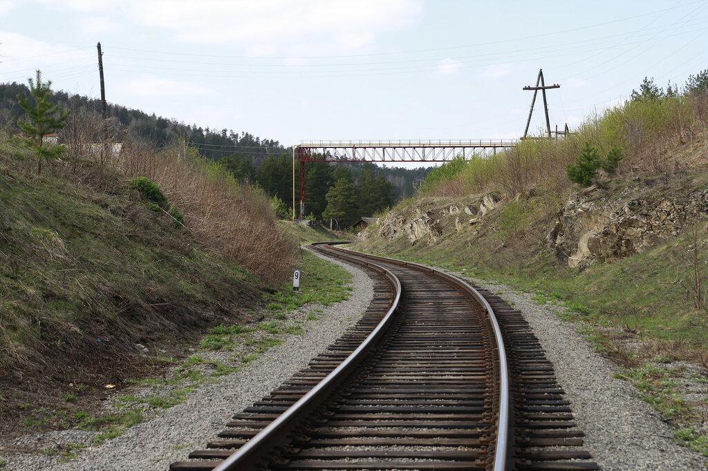 Изгиб железной дороги