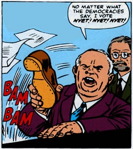 Хрущёв, карикатура