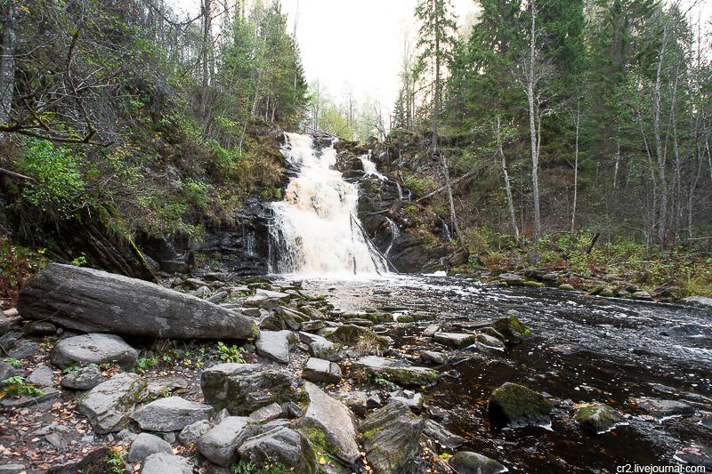 Два карельских водопада