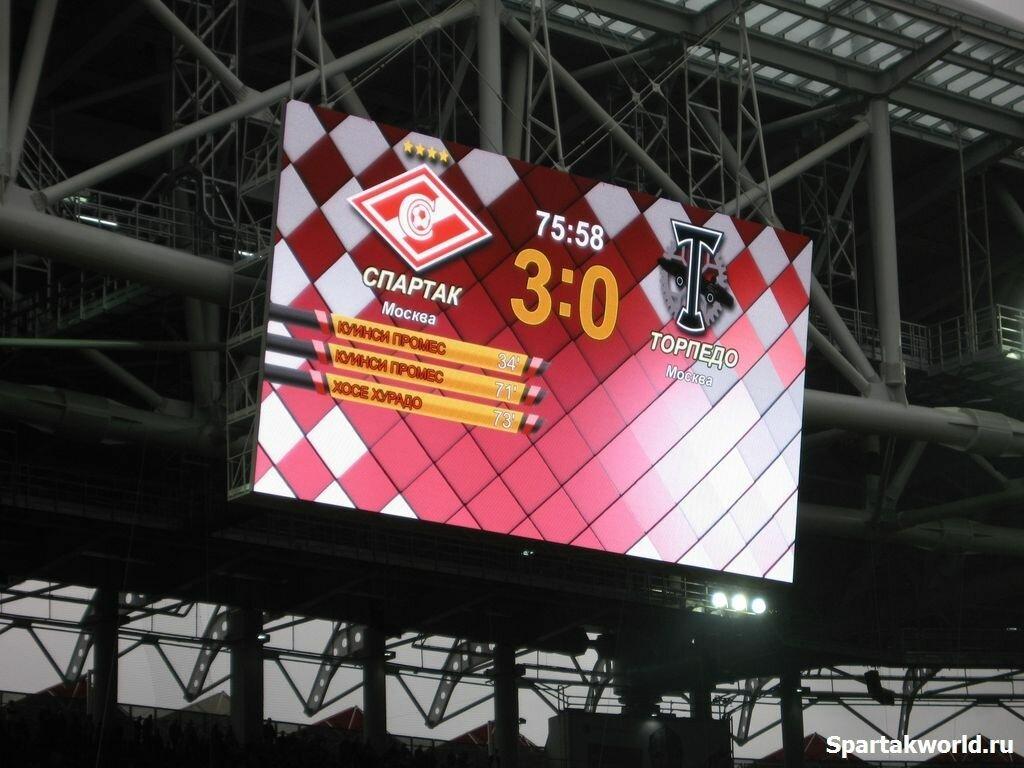 """Спартак"" - ""Торпедо"" 3:1 ""Открытие Арена"""