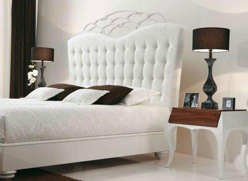 Кровати с мягкой спинкой наилучший вариант