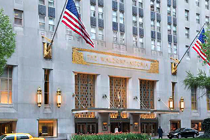 «Хилтон» продал китайцам Waldorf Astoria