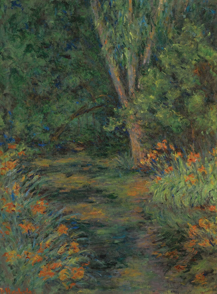 Blanche Hochede-Monet - Flowers in the Garden, 1930.jpeg
