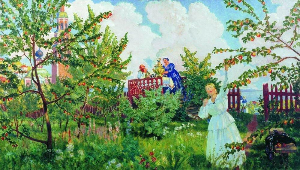 Яблоневый сад. 1918.jpg