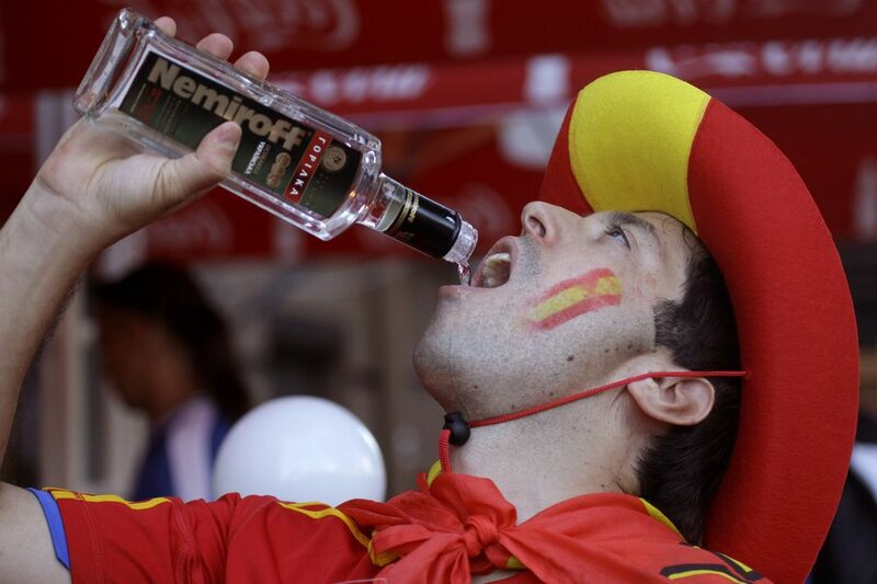 Испания Италия, 4:0