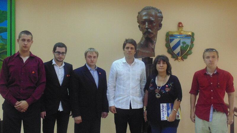 Куба посольство день рождения Фиделя.JPG
