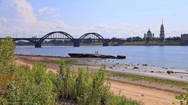 Рыбинск. Вид на мост