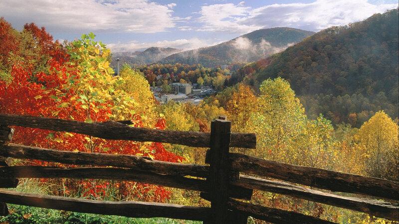 Gatlinburg , near Great Smoky Mountains NP. Tennessee. USA