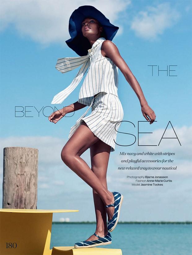 Джасмин Тукс (Jasmine Tookes) в журнале Elle UK (11 фото)