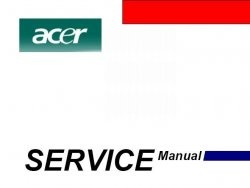 Книга ACER.Сервисные мануалы по ноутбукам