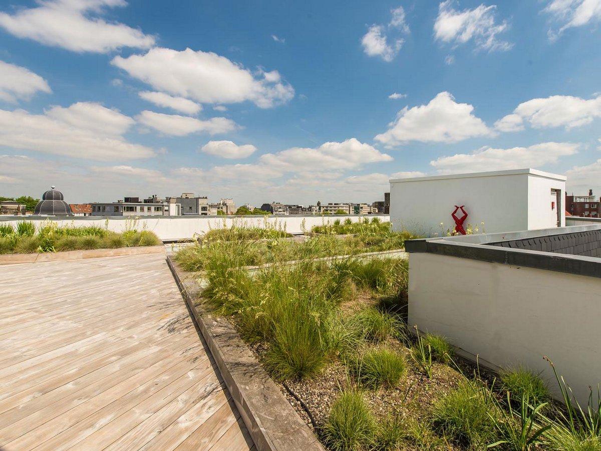 Объекты Sotheby's, пентхаус в Брюсселе, апартаменты в Бельгии, элитная недвижимость Бельгии, купить квартиру в Брюсселе, терраса на крыше дома