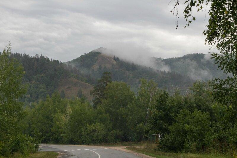 Облака в горах, Жигулевские горы