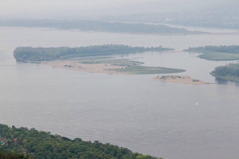 Острова, Волга