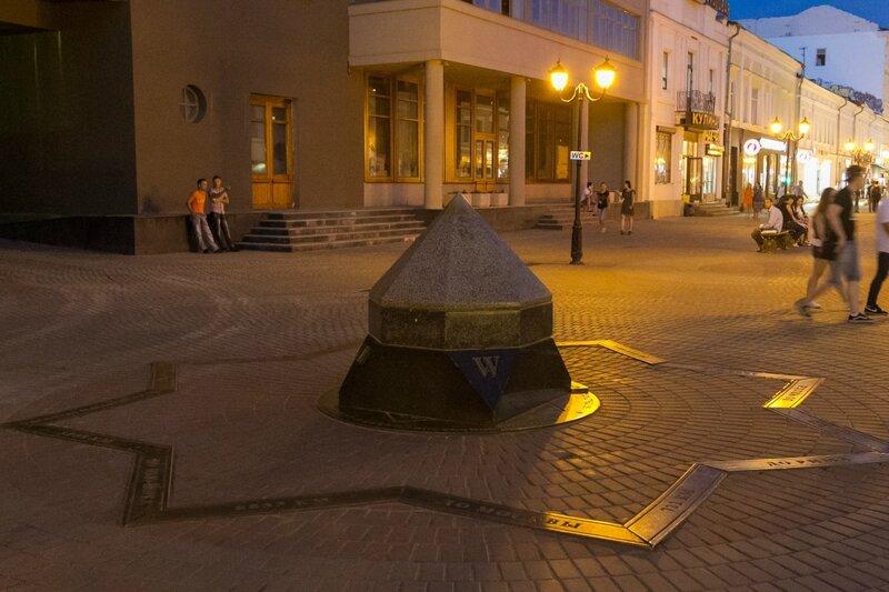 Географический центр Казани, Казань, улица Баумана