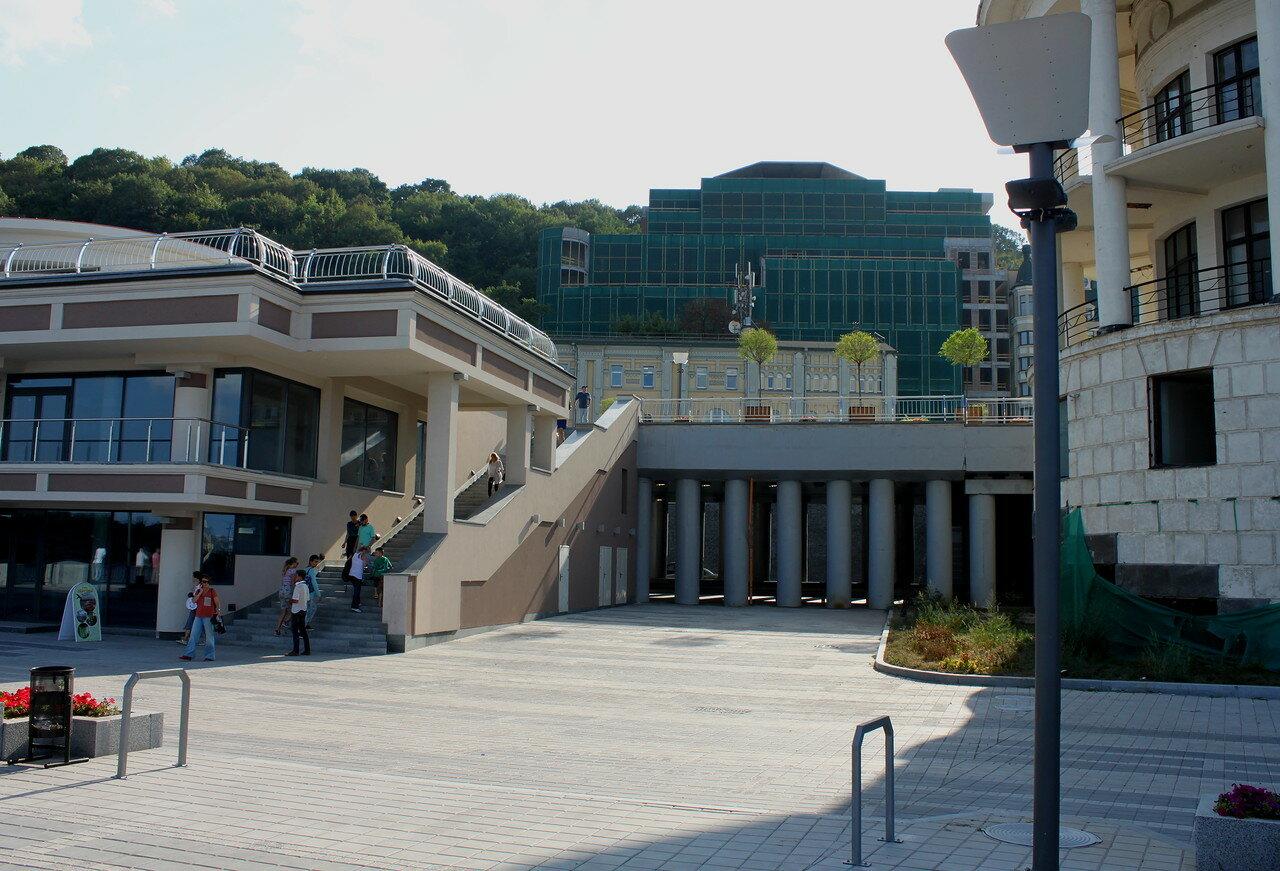 почтовая площадь лестница