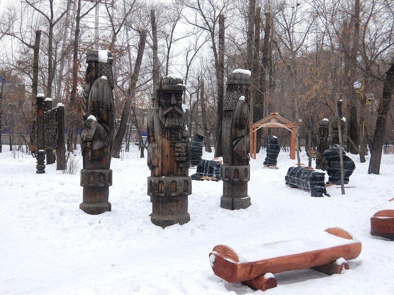 Абакан - Скульптуры