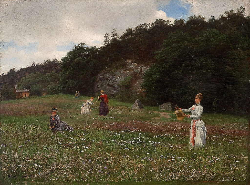 Hans Gude - Engblomster (1888)..jpg