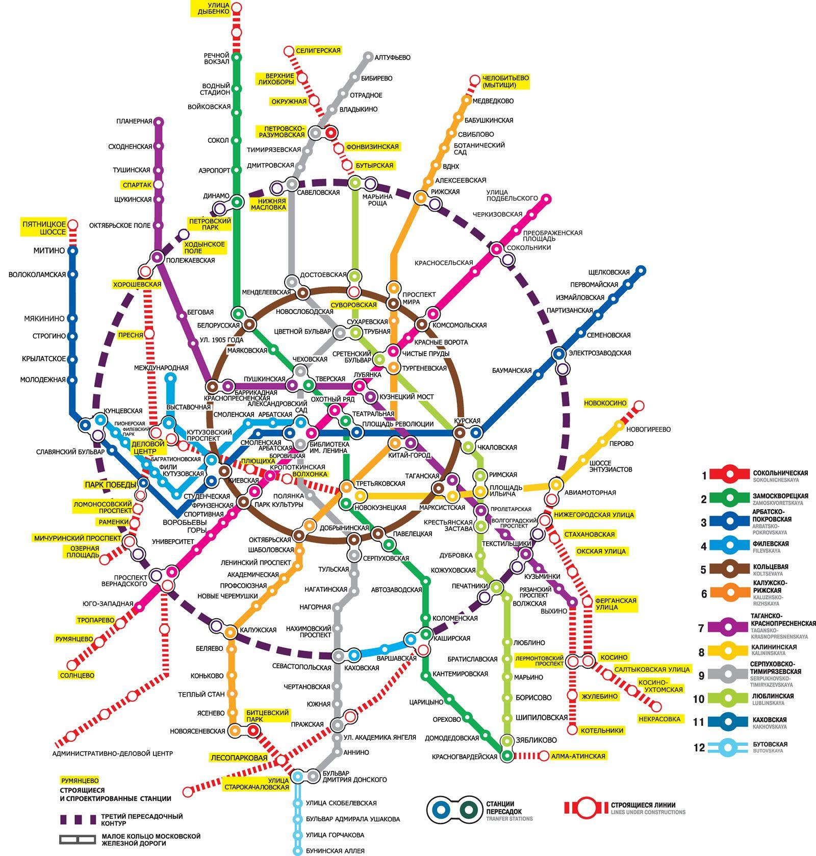 Схема метро новое.