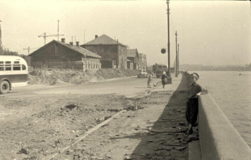 1950-е. Фрунзенская набережная