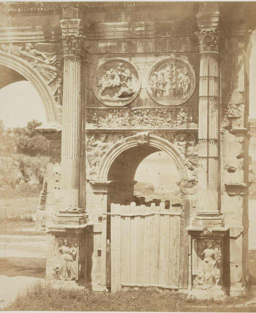 Арка Константина, 1860