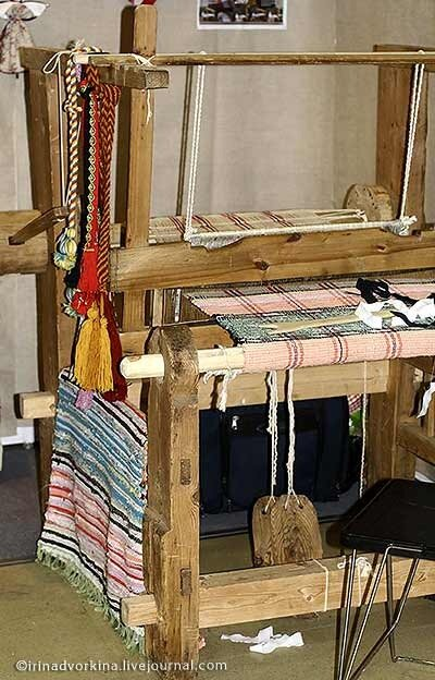 Горизонтальный станок для ткачества