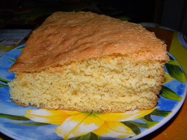 Выпечка пышного бисквита! Заготовка для торта и к чаю!