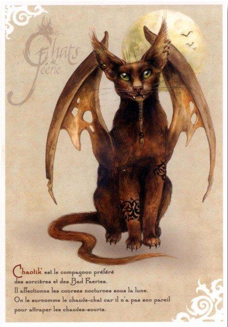 Иллюстратор Severine Pineaux, Faery's cats