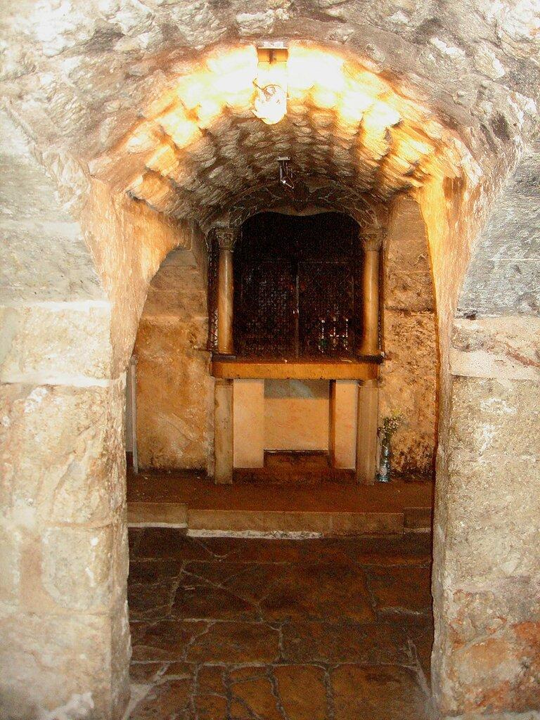 Иерусалим, Храм Гроба Господня. Темничка Спасителя